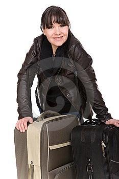 Traveling Woman Royalty Free Stock Photos - Image: 8603308