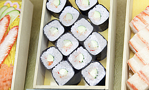 Japanese Sushi Royalty Free Stock Photography - Image: 8603427