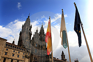 Santiago De Compostela Cathedral Stock Photography - Image: 8603762