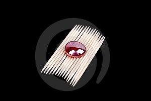 Tandpetarear Arkivbild - Bild: 8603822