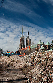 Ostrow Tumski, Wroclaw Royalty Free Stock Photography - Image: 8604007