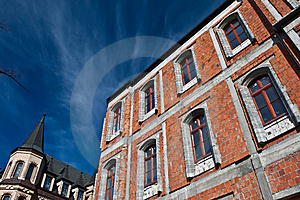 Building In Construction Royalty Free Stock Image - Image: 8604026
