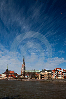 Ostrow Tumski, Wroclaw Royalty Free Stock Image - Image: 8604036