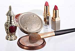 Still Life With Cosmetics Stock Image - Image: 8604161