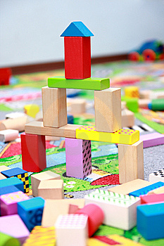 Blocks Construction Royalty Free Stock Photography - Image: 8604217