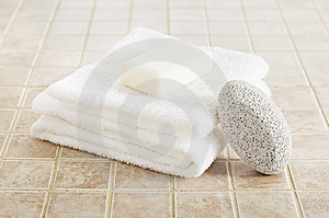Spa Display Stock Images - Image: 8604584