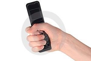 Celltelefon Arkivbild - Bild: 8604592