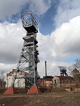 Old Mine Poland Stock Image - Image: 8604621