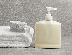 Spa Display Royalty Free Stock Photo - Image: 8604705