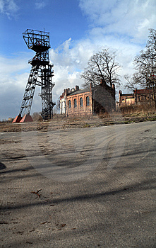 Old Mine Poland Stock Image - Image: 8604721