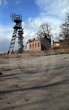 шахта старая Польша Стоковое Изображение - изображение: 8604721