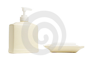 Spa Display Stock Image - Image: 8604801