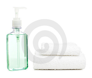 Spa Display Stock Photography - Image: 8604862