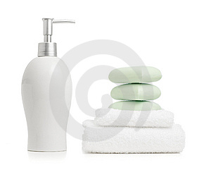 Spa Display Stock Image - Image: 8604881