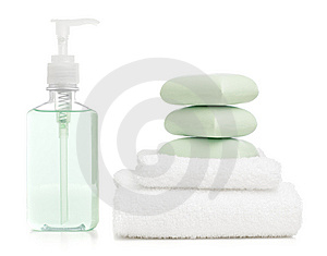 Spa Display Stock Photo - Image: 8604890