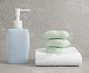 Spa Display Stock Photos - Image: 8605073