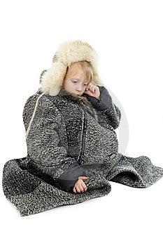 Homeless Child 3 Royalty Free Stock Image - Image: 8605156