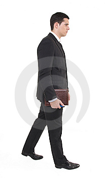 Businessman With Agenda Royalty Free Stock Photography - Image: 8605257
