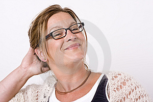 Woman Smiling Royalty Free Stock Photos - Image: 8605308