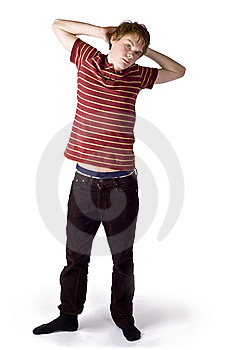 Late Teenage Boy Royalty Free Stock Images - Image: 8605359