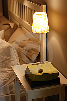 Bedroom Lamp Royalty Free Stock Photography - Image: 8605427