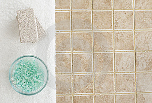 Spa Display Stock Images - Image: 8605504