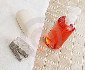 Spa Display Royalty Free Stock Image - Image: 8605596