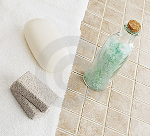 Spa Display Stock Photo - Image: 8605620