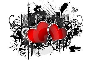 Hearts Royalty Free Stock Photos - Image: 8605708
