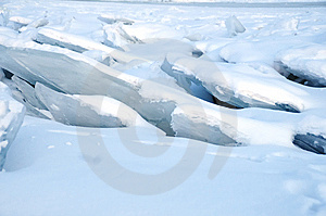 Pack Ice In River Royalty Free Stock Photos - Image: 8605998