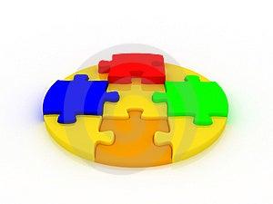 Puzzle Stock Image - Image: 8606121