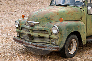 Vintage Pick-Up Truck Stock Images - Image: 8606174