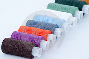 Colorful Sewing Spools Stock Photography - Image: 8606392