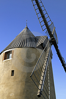 Windmill Royalty Free Stock Image - Image: 8606416