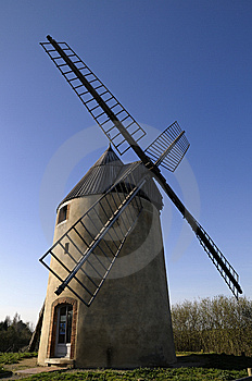 Old Windmill Royalty Free Stock Photo - Image: 8606425