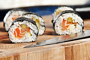 Sushi Royalty Free Stock Photo - Image: 8606665