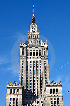 Palace Of Culture Royalty Free Stock Images - Image: 8606689