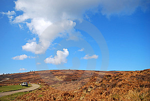 Yorkshire Moor Landscape Stock Photo - Image: 8606710