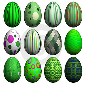 Easter Egg Collection Stock Photo - Image: 8607280