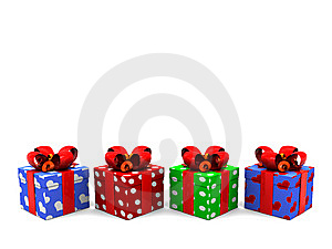 Gifts Background Royalty Free Stock Photo - Image: 8607875