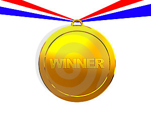 Winner Medal Stock Photography - Image: 8607952