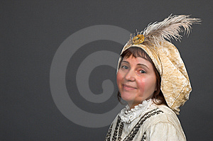 The Smiling Woman Royalty Free Stock Image - Image: 8607956