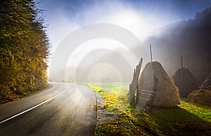 Fall Country Road Stock Photos - Image: 8607973