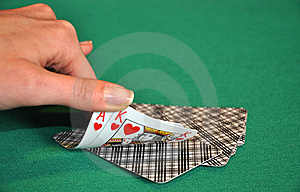 Check Poker Royalty Free Stock Photo - Image: 8607985