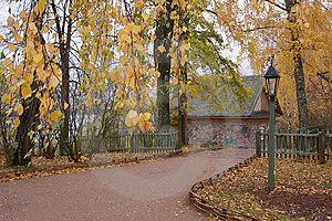 Autumn Scene Stock Image - Image: 8608221