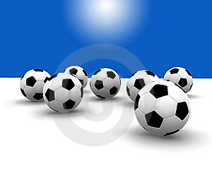 Soccer Balls Royalty Free Stock Photos - Image: 8608308