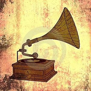 Música Retra Fotografía de archivo - Imagen: 8608312