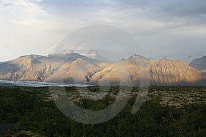 Mountain With Special Lighting Stock Image - Image: 8608401