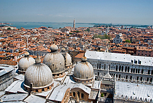Venice From Above Stock Photos - Image: 8609113