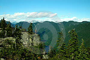 Seymour Watershed From Paton's Lookout Royalty Free Stock Images - Image: 8609429